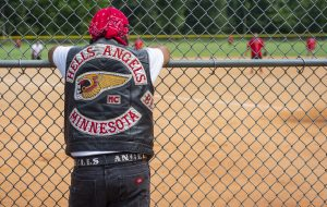 Hells Angels raise money for charity with softball game