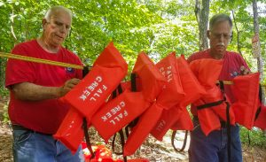 McCalls donate life vests to Fall Creek Landing | Test