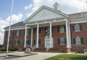 Authorities investigating Sunday night explosion at the Pickens County Courthouse