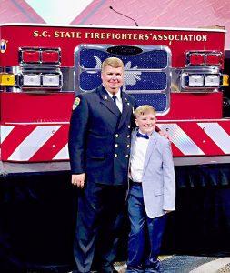 King named State Firefighters' Association president | Test