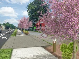 Walhalla unveils plans for $5.7M downtown greenway