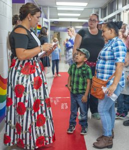 Walhalla elementary school welcomes students in style