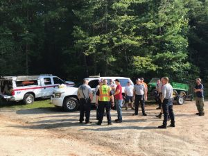 Missing Chattooga tubers found