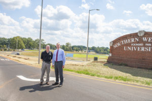 Clayton Drive entrance project complete | Test