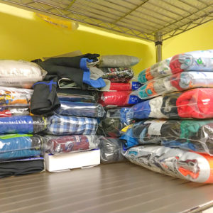 Library director 'thrilled' with clothing drive results | Test