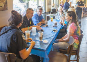 Police talk issues with residents over coffee | Test