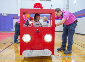 Fire departments hold annual safety day for kids | Test