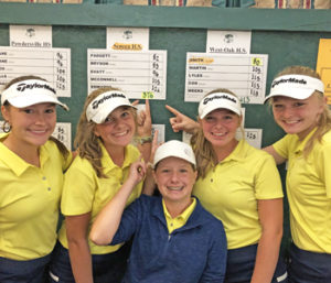Seneca girls' golf qualifies for state | Test