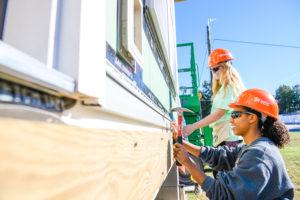 Annual Habitat build kicks off CU homecoming week