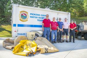 McCalls donate lift bags to emergency officials