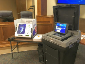 New voting machine open for practice   Test