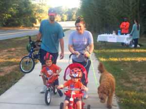 Clemson Elementary students, parents take part in Walk and Roll to School Day | Test