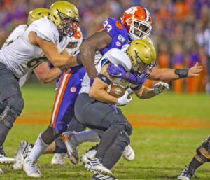 Football wasn't always the plan for Tigers' Orhorhoro | Test