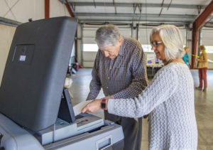 Elections provide test for new paper ballot system | Test