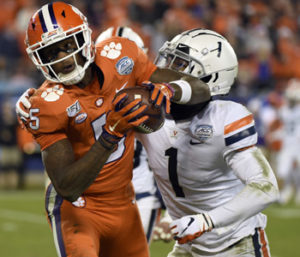 Tigers beat Virginia to earn fifth straight ACC title