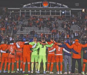 Tigers' NCAA run ends in penalty kicks