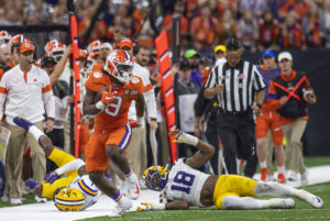 Unhappy return: Clemson running back Etienne again comes up short at home | Test