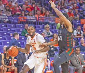 Tigers earn first ACC win ahead of trip to North Carolina