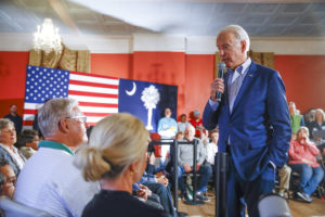 Biden holds big lead in CU poll
